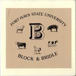 FHSU Block & Bridle Club Scrapbook: 1990-1991 by FHSU Block & Bridle Club