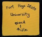 FHSU Block & Bridle Club Scrapbook: 1991-1992 by FHSU Block & Bridle Club
