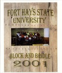 FHSU Block & Bridle Club Scrapbook: 2000-2001