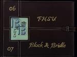 FHSU Block & Bridle Club Scrapbook: 2006-2007 by FHSU Block & Bridle Club