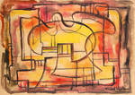 Abstract Puzzle by Mabel Vandiver 1886-1991