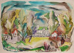 A Town of Many Colors by Mabel Vandiver 1886-1991