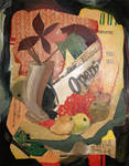 Collage by Mabel Vandiver 1886-1991