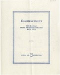 Commencement Program 1923 by Kansas State Teacher's College of Hays