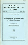 An Economic and Sociological Study of a Kansas Community