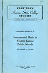 Instrumental Music in Western Kansas Public Schools
