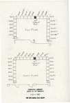 Hand drawn floor plan - Forsyth Library by Forsyth Library, Fort Hays Kansas State College