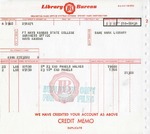Library Bureau invoice