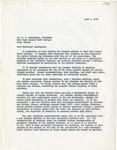 Letter from Melvin J. Voigt and Robert L. Talmadge to Dr. M.C. Cunningham recommending construction of a new library