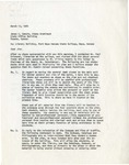 Letter from Richard R. Starr to James C. Canole regarding Whitley Austin's letter of March 11, 1964.