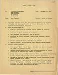 Memorandum regarding noise in the library