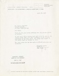 Letter from Rich Young to Marc T. Campbell by Richard Young
