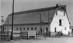 Large barn on Experiment Station by Louis C. Aicher 1887-1977