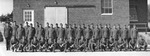 Guard detail at prisoner of war camp at the Hays Station by Louis C. Aicher 1887-1977