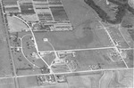 Aerial view of the Experiment Station by Louis C. Aicher 1887-1977