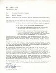 Rarick Hall: Memorandum to Gerald W. Tomanek from Earl Bozeman, September 21, 1976
