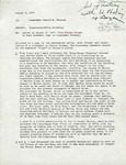 Rarick Hall: Letter, to Gerald W. Tomanek, from Earl G. Bozeman, August 3, 1977
