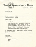 Rarick Hall: Letter, to Louis Krueger, from Max Bickford, September 23, 1976