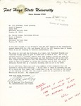 Rarick Hall: Letter, to Bill Kauffman and Warren Corman, from W.E. Keating, October 25, 1977