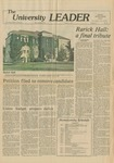 Rarick Hall: Newspaper, Rarick Hall: a final tribute by Gary Hennerberg