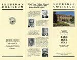 Sheridan Coliseum: Brochure, Sheridan Coliseum Campaign