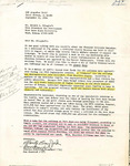 Sheridan Coliseum: Letter, to Ronald Pflughoft, from Clarita and Don Crawford, September 30, 1986
