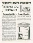 Sheridan Coliseum: Newsletter, Sheridan update