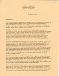 Sheridan Coliseum: Letter, to various people, from Nita M. Landrum by Nita M. Landrum