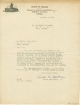Sheridan Coliseum: Letter, to President W. A. Lewis, from Chester M. Routledge