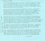 Sheridan Coliseum: Newsletter, Memories of Sheridan