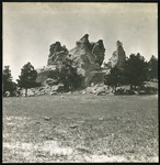 005-03: Rock Formations and Trees by George Fryer Sternberg 1883-1969