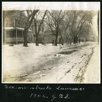 007-03: Winter Scene in Lawrence by George Fryer Sternberg 1883-1969