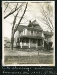 007-04: Charles H. Sternberg's residence in Lawrence, Kansas by George Fryer Sternberg 1883-1969