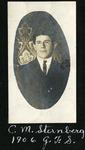 008-03: Portrait of Charles Mortram Sternberg by George Fryer Sternberg 1883-1969
