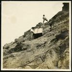015-05: Two Men On A Steep Incline by George Fryer Sternberg 1883-1969