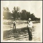 016-01: Two Men Fishing by George Fryer Sternberg 1883-1969