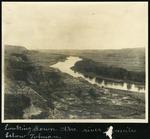 018-02: Landscape Photograph of Red Deer River by George Fryer Sternberg 1883-1969
