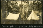 019-04: Two Tents by George Fryer Sternberg 1883-1969