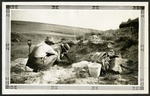 021-06: Two Men Excavating For Fossils by George Fryer Sternberg 1883-1969