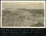 024-01: Landscape Photo of Badlands by George Fryer Sternberg 1883-1969