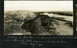 006-01: Red Deer River from a perspective below Steveville, Alberta by George Fryer Sternberg 1883-1969