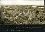 006-04: Badlands near Red Deer River in Alberta, Canada by George Fryer Sternberg 1883-1969