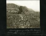 011-02: Excavation site by George Fryer Sternberg 1883-1969
