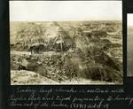 012-01: Men Using Tripod and Triplex Block to Haul Rock by George Fryer Sternberg 1883-1969