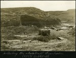 015-01: Trachodon Fossil Excavation Site by George Fryer Sternberg 1883-1969