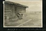 027-01: Happy Jack at His Cabin by George Fryer Sternberg 1883-1969
