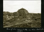 029-01: One of Many Buttes by George Fryer Sternberg 1883-1969