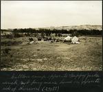 030-02: Cuttler's Camp by George Fryer Sternberg 1883-1969