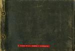 001-00: George Sternberg Album #3 Front Cover by George Fryer Sternberg 1883-1969