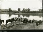 027-01: Ferryboat Crossing by George Fryer Sternberg 1883-1969